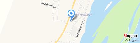 Продовольственный магазин на карте Ассадулаево