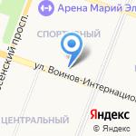 Партнёр-2 на карте Йошкар-Олы