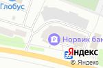 Схема проезда до компании Росич в Йошкар-Оле