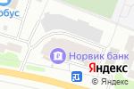 Схема проезда до компании Трест 21 Волговятскспецобъектстрой в Йошкар-Оле