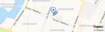 Интерфарм на карте Йошкар-Олы