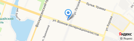 Комитет Республики Марий Эл по делам архивов на карте Йошкар-Олы