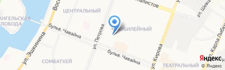 Детский сад №22 Журавушка на карте Йошкар-Олы