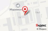 Схема проезда до компании Торговая компания в Сенькино