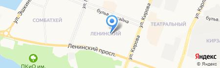 Средняя общеобразовательная школа №29 на карте Йошкар-Олы