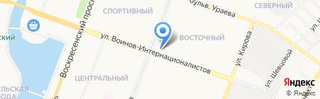 Банкомат МДМ Банк на карте Йошкар-Олы