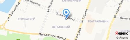 Ситора на карте Йошкар-Олы