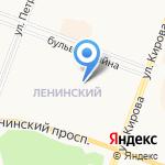 Почтовое отделение №38 на карте Йошкар-Олы