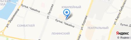Алстрой на карте Йошкар-Олы
