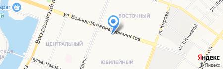 ЛАСТиК на карте Йошкар-Олы