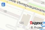 Схема проезда до компании Котофей в Йошкар-Оле