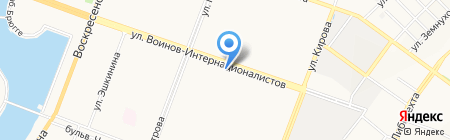 Пивной на карте Йошкар-Олы