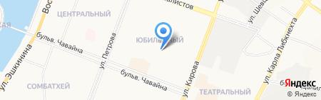 Детский сад №11 Гнездышко на карте Йошкар-Олы