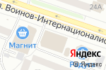 Схема проезда до компании Магазин трикотажа в Йошкар-Оле