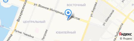 Банк Йошкар-Ола на карте Йошкар-Олы