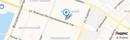 Мастерская по ремонту холодильников на ул. Воинов-Интернационалистов на карте Йошкар-Олы