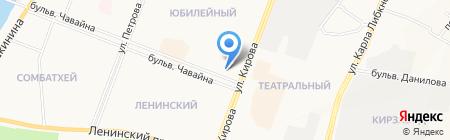 Бридж Тур на карте Йошкар-Олы