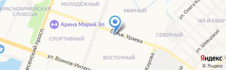 АвантажСтудио на карте Йошкар-Олы