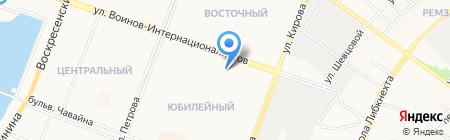 Радан на карте Йошкар-Олы
