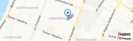 Доктор Дент на карте Йошкар-Олы