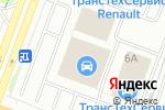 Схема проезда до компании Toyota в Йошкар-Оле