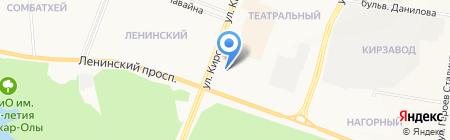 Skoda на карте Йошкар-Олы