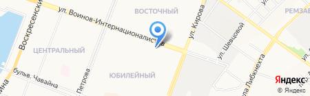 Волго-Вятский банк Сбербанка России на карте Йошкар-Олы