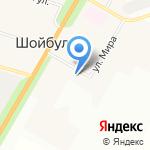 Администрация Шойбулакского сельского поселения на карте Йошкар-Олы