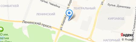 Renault на карте Йошкар-Олы