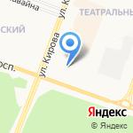 Opel на карте Йошкар-Олы