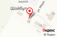 Схема проезда до компании Шойбулакский в Шойбулаке