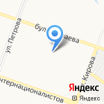 СчетоводЪ на карте Йошкар-Олы