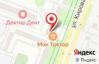 Схема проезда до компании Амбулатория в Кировой