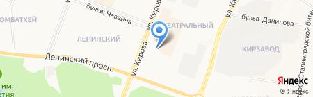 Полный привод 4х4 на карте Йошкар-Олы