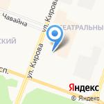 Родина на карте Йошкар-Олы
