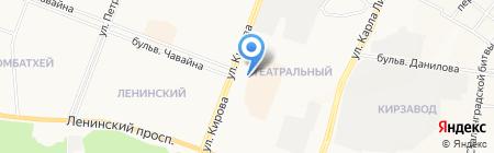 Milavitsa на карте Йошкар-Олы