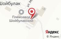 Схема проезда до компании Йола маркет в Шойбулаке
