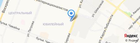 Детская поликлиника №5 на карте Йошкар-Олы