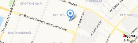 Детский сад №90 Крепыш на карте Йошкар-Олы