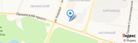 Мюллер Холл на карте Йошкар-Олы