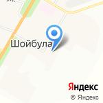Шойбулакская сельская библиотека на карте Йошкар-Олы