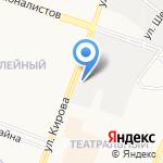 Накат на карте Йошкар-Олы