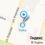 Невесомость на карте Йошкар-Олы