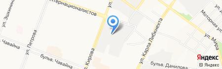 Автомобильный рынок на карте Йошкар-Олы