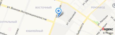 Бош Центр Марий Эл на карте Йошкар-Олы