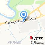 Трасса на карте Йошкар-Олы