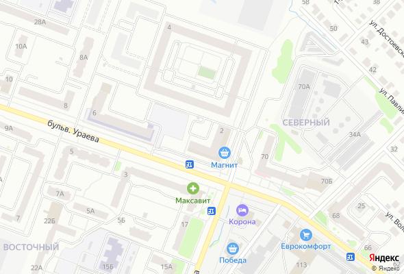 купить квартиру в ЖК Пересечение бульвара Ураева и улицы Мира