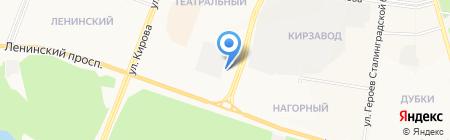 Апельсин на карте Йошкар-Олы
