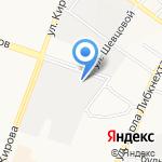 Кировец на карте Йошкар-Олы