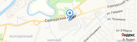 Народное на карте Йошкар-Олы